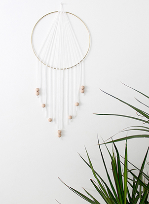 Dreamcatcher diy minimaliste et design simple magazine for Oui non minimaliste