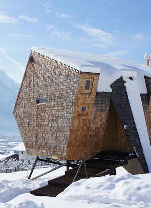 Ufogel - Maison minimaliste Autriche