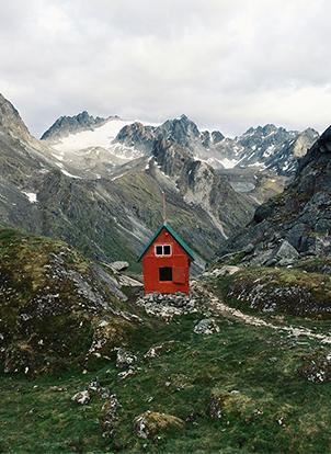 refuge Alaska - Mint Hut